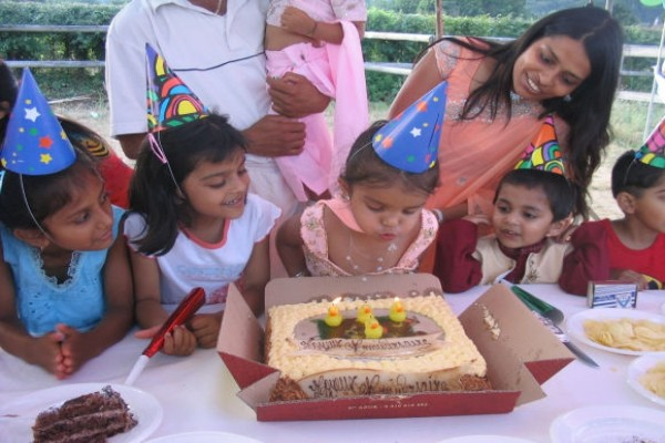 Khushi 4th Birthday -