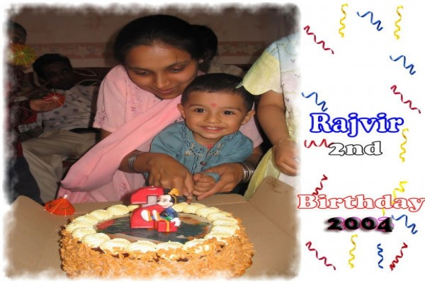 Rajvir 2nd Birthday -