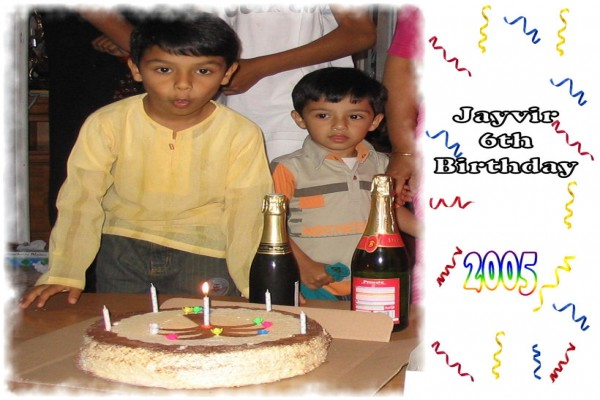 Jayvir 7th Birthday -
