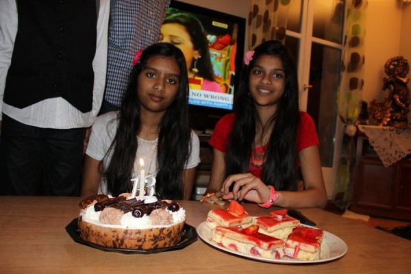 Shivani&Shweta 13th