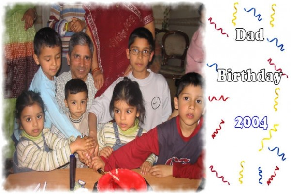 Dad Birthday - 2004