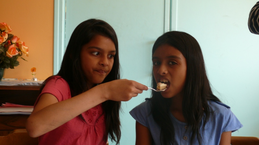 Shivani&Shweta 11th Birthday - 2011