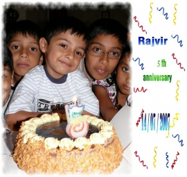 Rajvir 5th Birthday - 2007