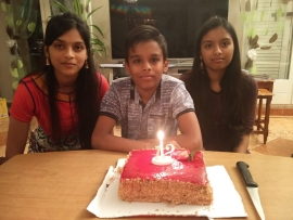 Ritik 12th Birthday - 2016
